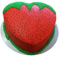 Heart Shape Strawberry C...