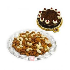 Cake with Dry Fruits