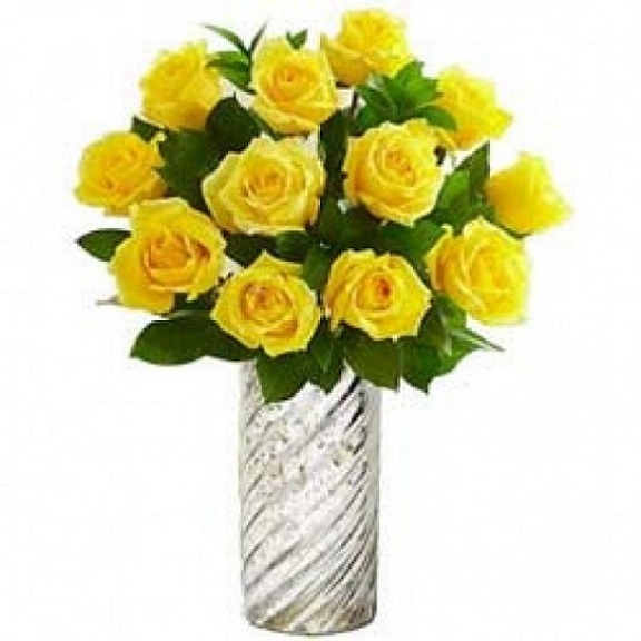 Send yellow flowers online yellow flowers delivery a bunch of 10 yellow ros mightylinksfo
