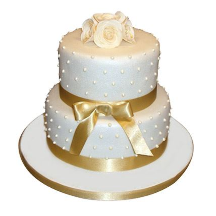2 Tier Cake For Golden A...