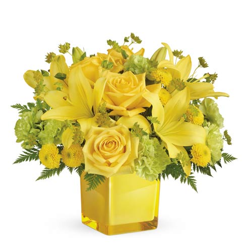 Mixed Yellow Flowers bou...