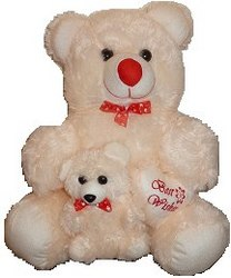 18 inch white Teddy bear...