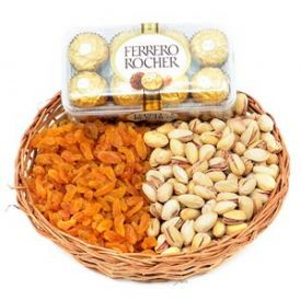 Mixed dry fruits with fe...