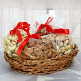 Mixed Dry Fruits With Ba...