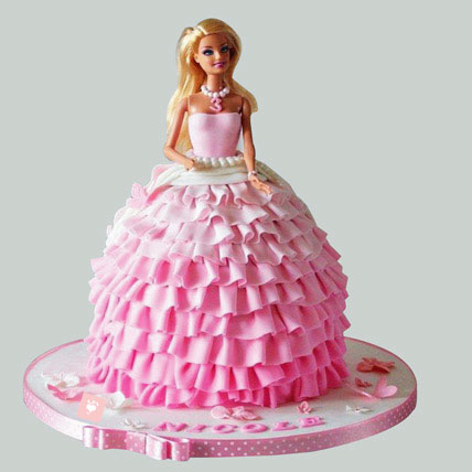Beautiful Doll Cake