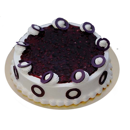 Eggless Yummy Blueberry ...