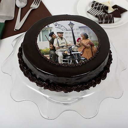 Truffle Photo Cake