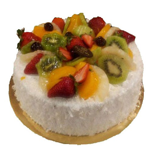 White Forest Fruit Cake