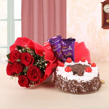 Red Roses, Black Forest...