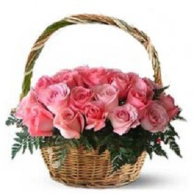 Elegant basket of 30 fre...