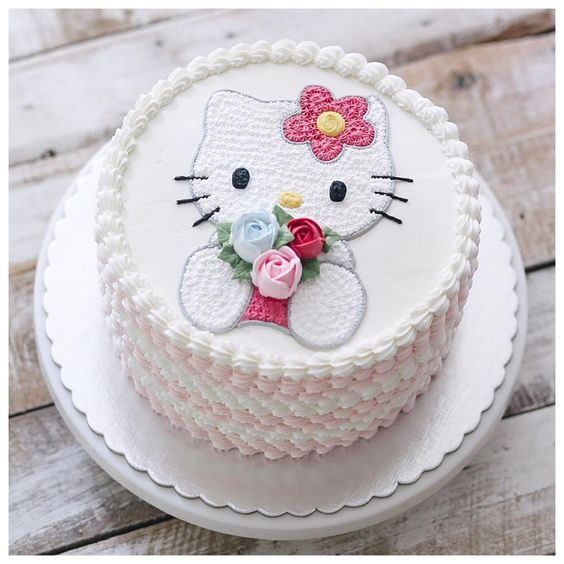 Hello Kitty Birthday Cake Flowerysite Com