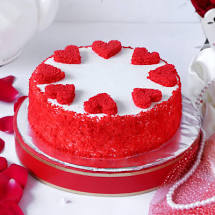 yummy  red vavlet cake